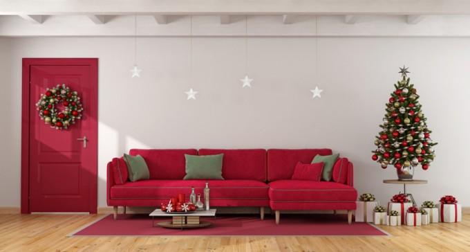 """""""По време на празниците обличам мебелите си в..."""
