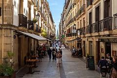 Улица в стария град на Сан Себасиан