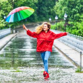 Дъждът може да се отрази добре на здравето