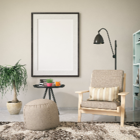 Разположете кътa така, че да използвате естествената светлина в стаята.