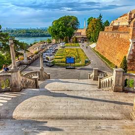 Крепостта Калемегдан, на която си струва да отидете по залез