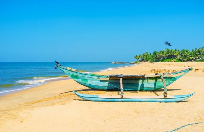 На море през зимата: Бентота, Шри Ланка