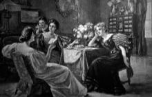 Правилата на викторианците за щастлив живот: №2 Клюкарствайте с приятели и общувайте със скучни хора