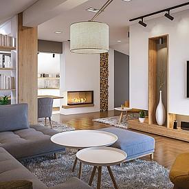 """""""Интериорът, както и картината, трябва да притежава вътрешен ритъм – тъмните елементи следва да уравновесяват светлите, ниската мебел да се редува с висока."""" Барбара Бери, интериорен дизайнер"""