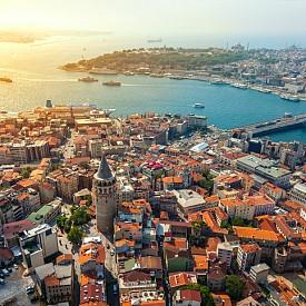 Истанбул от високо