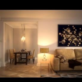 Колко важно е осветлението за интериора?
