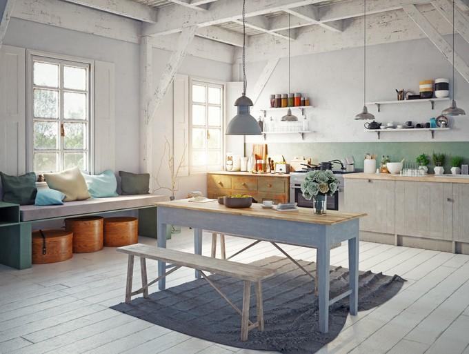 """""""Еко нотка в кухнята дава свежият въздух и..."""