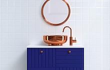 Идеи за синьо в банята