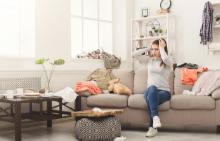Как да подредим у дома и да останем с ума си