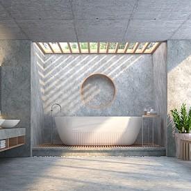 """""""В банята има два красиви елемента – ваната и мивката. Изберете на кой от тях искате да акцентирате."""" Жан-Луи Деньо, интериорен дизайнер"""