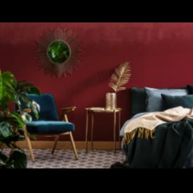 Теория на цветовете в интериора: червено