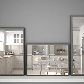 """""""Ако кухнята ви се намира в стая с прозорец, ви препоръчвам да облицовате срещуположната страна с огледала."""" Наталия Шестак, декоратор"""