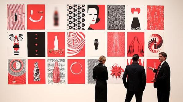 Част от изложбата в Атланта