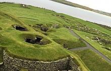 Джаршоф, Шотландия - една от най-важните шотландски праисторически археологически забележителности.