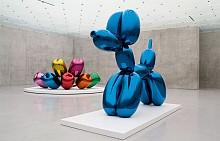 Вместо покемони ловим скулптурите на Джеф Кунс