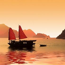 През 2007 г. във Виетнам съпрузите осиновили още едно дете, тригодишният Пакс. От този момент двойката многократно се е завръщала в тази страна, като именно там отпразнува десетгодишнината на отношенията си. По време на това романтично пътешествие, двойката изкара в залива Хелонг, който е известен с красивите гледки на лодки с червени платна, плаващи между скалите. В Ханой Бранджелина отсядат обикновено в хотела в колониален стил Sofitel Metropole, открит още през 1901 г.