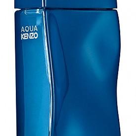 Aqua KENZO е морски аромат, който комбинира нотки розов пипер, листа от леска, сандалово дърво и кедър.
