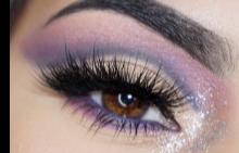 Грим за кафяви очи: стъпка по стъпка