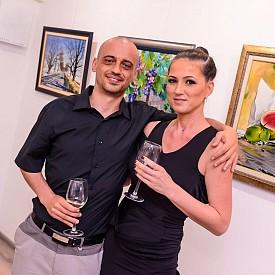 Калина Ханджийска със съпруга си