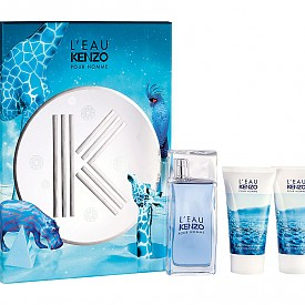 L'eau KENZO Homme EDT, 50 мл, шампоан и душ-гел (2 x 50 мл), 114 лв.