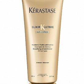 Универсална грижа Elixir Ultime на Loreal Proffesionnel, която комбинира легендарните масла от формулата Олео-Комплекс в лека, кремообразна текстура, която се слива чувствено с косата.