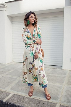 Street style с кимоно