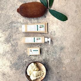Душ-крем, мляко за тяло и сапун на Klorene с органично масло от купуасу, предназначено за нуждите на сухата и много сухата кожа.