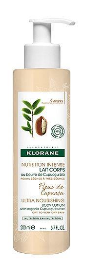 Мляко за тяло с органично масло от купуасу на KLORANE