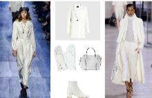 Палто Marella, ръкавици Marc Cain, чанта MANGO,  боти MANGO