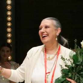 """Почина """"кралицата на кашмира"""" - великата италианска дизайнерка Лаура Биаджоти"""