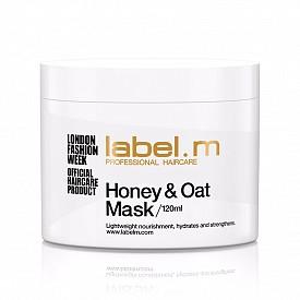Подхранваща маска за коса с мед и овес Honey & Oat mask на label.m
