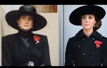 20 визии на Кейт Мидълтън, които наподобяват стила на принцеса Даяна