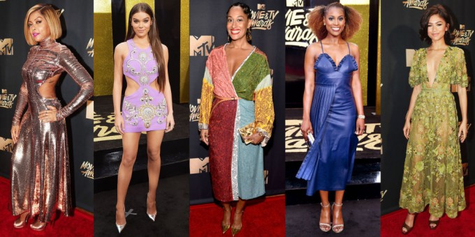 По червения килим на MTV Movie Awards 2017