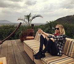 Екзотичната почивка на Елена Перминова в Африка