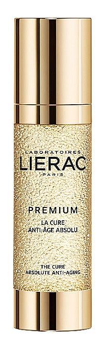 Антиейдж серумът Premium La Cure на LIERAC възстановява обема на лицето, 199 лв.