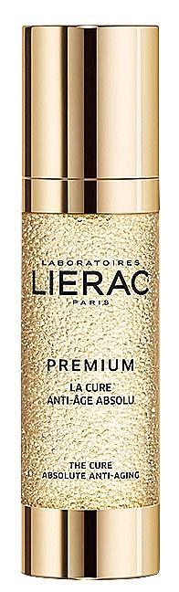 За антиейдж грижа изберете еликсир. Premium на LIERAC съдържа висока концентрация на активни съставки, които увеличават броя на младите клетки, докато кожата се възстановява.