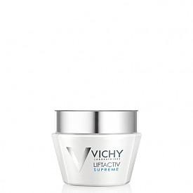 Liftactiv Supreme на VICHY е първият крем с цялостен лифтинг ефект в течение на деня за прогресивна корекция на бръчки и отпускане на кожата. За младежки вид на кожата сега, до вечерта и дългосрочно.
