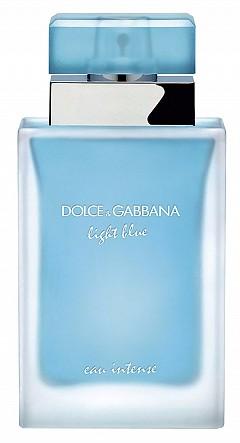 Light Blue Eau Intense на DOLCE&GABBANA носи уханието на Средиземноморието със свеж старт от лимон и ябълка, букет от невен и жасмин и мускус за финал.