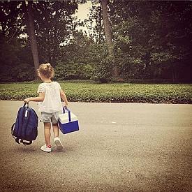Дикси - дъщерята на модела на Victoria's Secret Лили Олдридж
