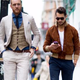 Най-стилните мъже от Лондон