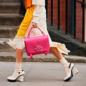 Най-смелите обувки по градските улици