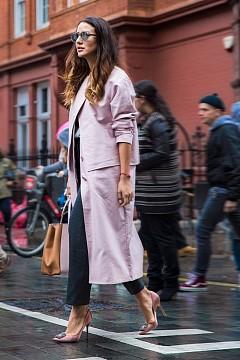 Street style от Лондон / зима 2016