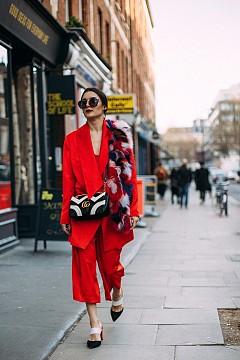 Street style от Лондон  - ден 3 - Седмица на модата / есен-зима 2017/2018