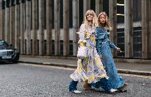 Трети ден модните улици в Лондон са ярки и цветни