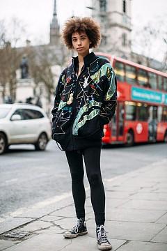 Street style от Лондон  - ден 5 - Седмица на модата / есен-зима 2017/2018