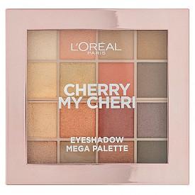 Грим: Леките златисти тонове в очите не са никак наситени, но за сметка на това са изключително освежаващи погледа. Ще откриете такива нюанси в палитрата сенки за очи Cherry My Cheri на L'OREAL PARIS.