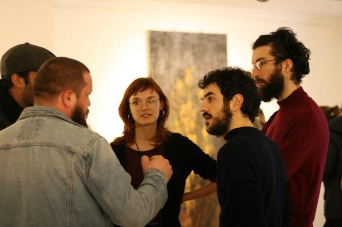 Луиза де Донато и Адриано Понте в оживен разговор с българските си колеги