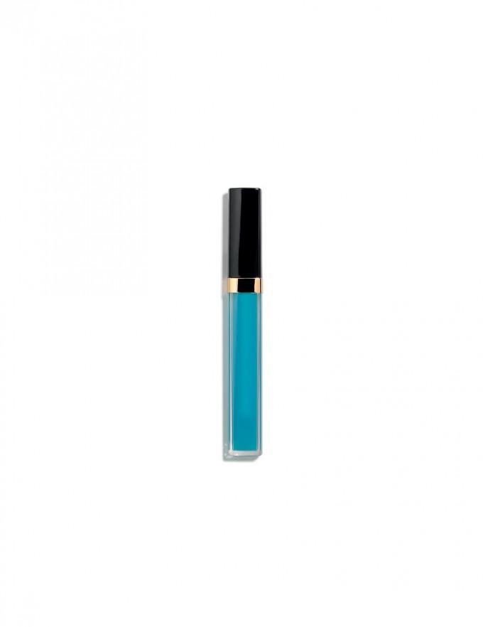 Синият глос от новата пролетна колекция на CHANEL (излиза...