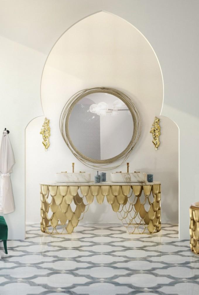 Интериор на баня на MAISON VALENTINA