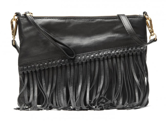 Чанта от кожа Mango